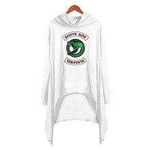 Güney yan yılanlar Riverdale Hoodie tişörtü Riverdale Jughead T shirt elbise Riverdale giysileri kız Suit Cosplay kostüm