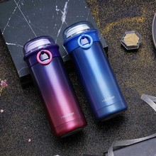 New 350ML Lonely planet aurora stainless steel vacuum bottle Keep cool thermos water bottle Car Funny Gift Insulation bottle