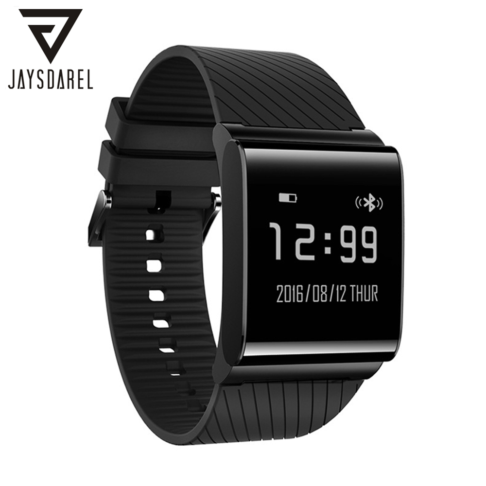 JAYSDAREL X9 PLUS Blood Pressure Oxygen Heart Rate Monitor Smart Watch OLED IP67 Smart Watch Fitness Bracelet for Android iOS jaysdarel heart rate blood pressure monitor smart watch no 1 gs8 sim card sms call bluetooth smart wristwatch for android ios