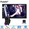 Podofo Autoradio 2 Din In Dash Car Radio 7 Touch Screen Car Digital Player MP5 Bluetooth