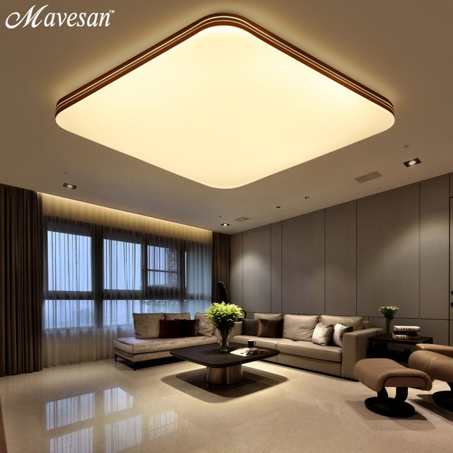 Modern ceiling light cold whitewarm white 90 265v ultra thin modern ceiling light cold whitewarm white 90 265v ultra thin ceiling lamp for aloadofball Image collections