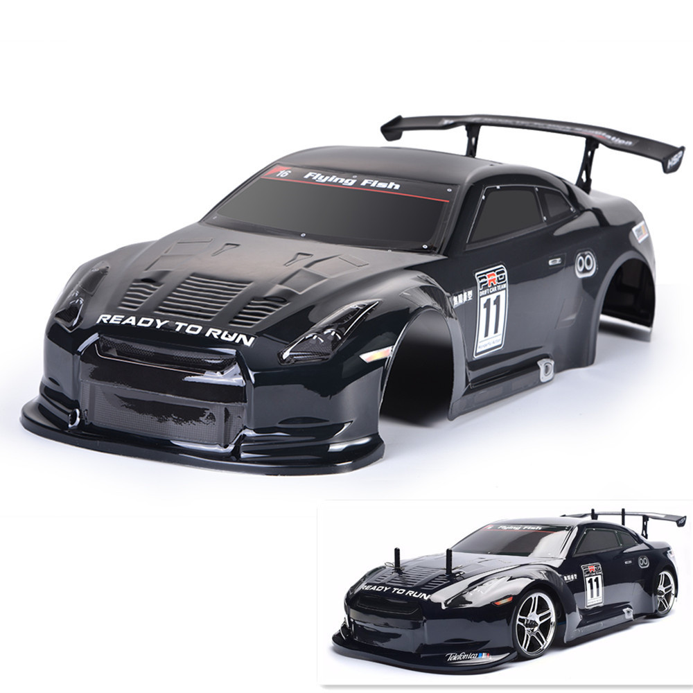 HSP Rc Drift Body Shell 1/10 Scale 4WD Electric Nitro Power On Road Drift Racing Rc Car Bodies Shell 3 colors fashion 1 10 rc car shell 190mm on road drift nissan gtr body shell w spoilers free shipping high quality