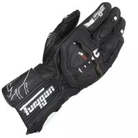 Breathable Motorcycle Protection Leather Motocross Gloves MOTO GP PRO Racing Black Carbon Fibre Guantes Furygan AFS19