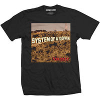 System Of A Down 'Toxicity' T-Shirt - NEW & OFFICIAL!