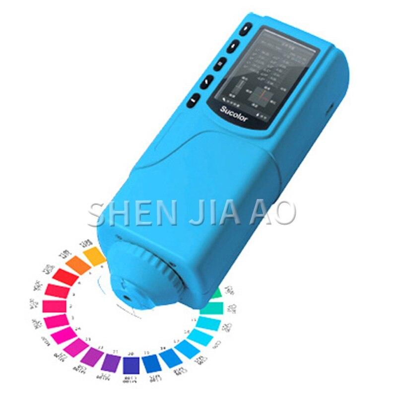 SC-10 Precisione Microcomputer Analizzatore di Colore Colorimetro Colore Strumento di Misura di Colore Tester 1 PC