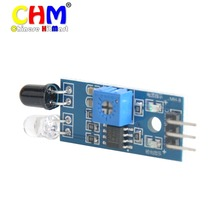 Módulo Sensor de evitación de obstáculos infrarrojo de 200 piezas IR para Arduino Smart Car Robot 3 cables reflectante fotoeléctrico # D036