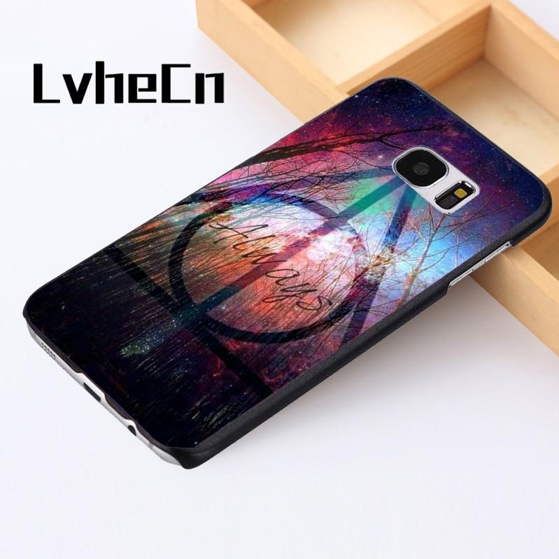 LvheCn phone case cover For Samsung Galaxy S3 S4 S5 mini S6 S7 S8 edge plus Note2 3 4 5  ...