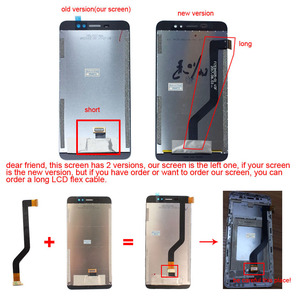 Image 2 - 5.3 inch Ulefone S8 Pro LCD Display+Touch Screen Digitizer Assembly 100% Original New LCD+Touch Digitizer for S8 Pro.
