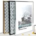Алюминий A4 A3 Плакат рамка для стене висит  Книги по искусству декоративная рамка  металлическая рамка для фото  СЕРТИФИКАТ КАДР  рамки для фо...