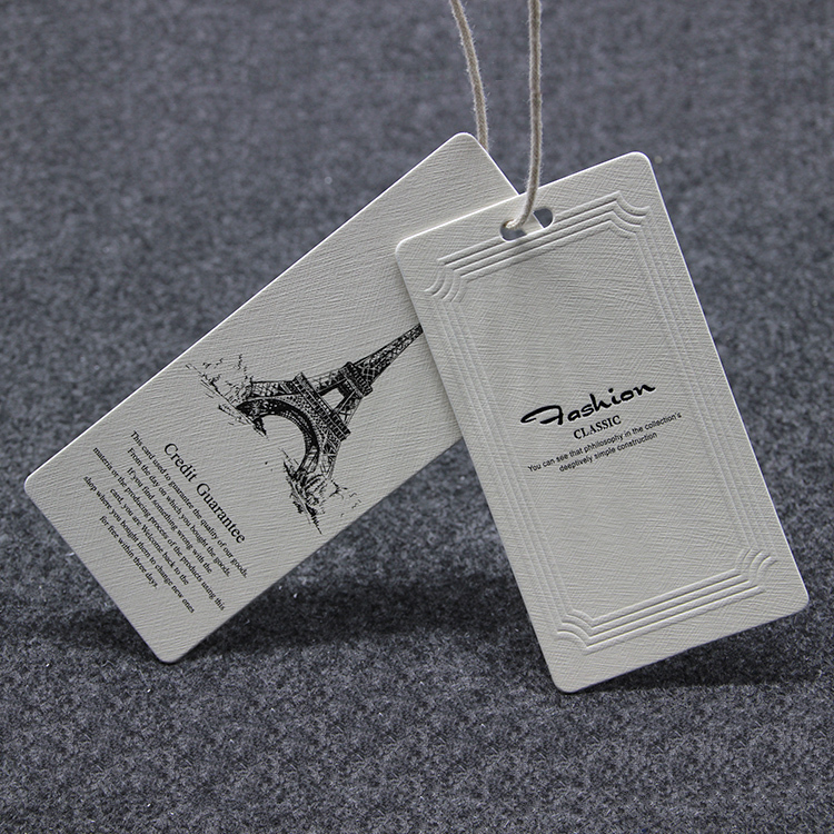 Free shipping custom hangtag swing ticket custom free for Custom t shirts with custom tags