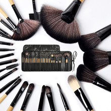 24Pcs Toiletry Kit Wool Brand wedding Makeup Brushes online artist Professional Cosmetic Set top Quality!fashion same paragraph