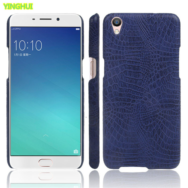 Oppo F1 Plus / OPPO R9 phone bag case Luxury Crocodile Skin PU leather Protective Case Cover For OPPO R9 F1 Plus