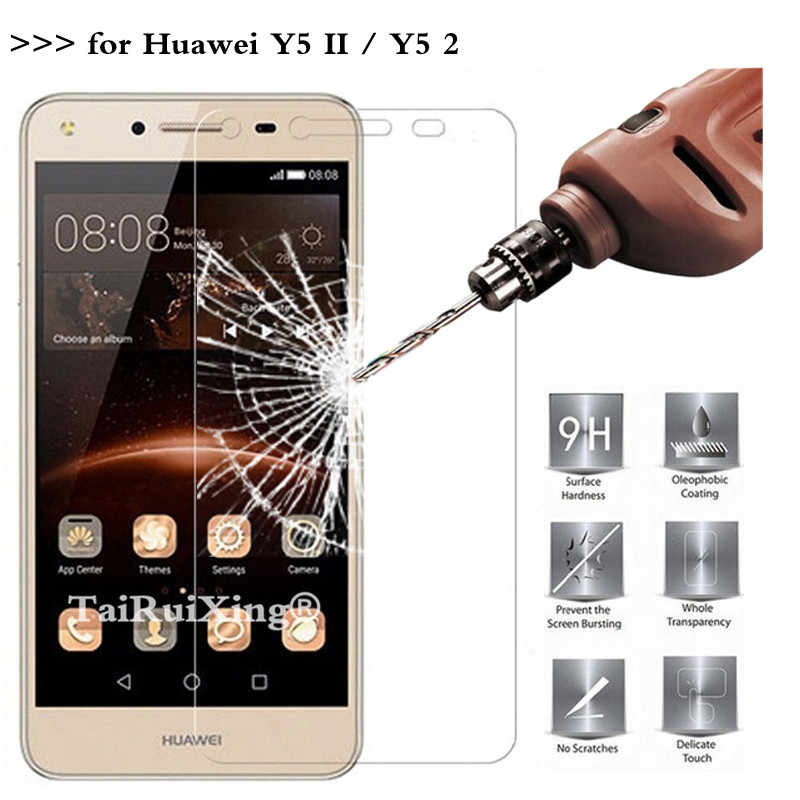 9H 2.5D 0.26 mm Tempered Glass Screen Protector For Huawei Y5ii / Y5 ii 2 CUN U29 L21 L01 5.0 Protective Film For Huawei Y5 II