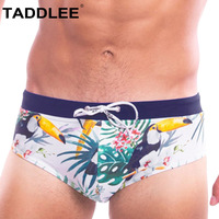 Taddlee Brand Sexy Low Rise Men's Swimwear Swimsuits Swimming Surfing Boxer Briefs Bikini Gay Penis Pouch Bathing Suits Board