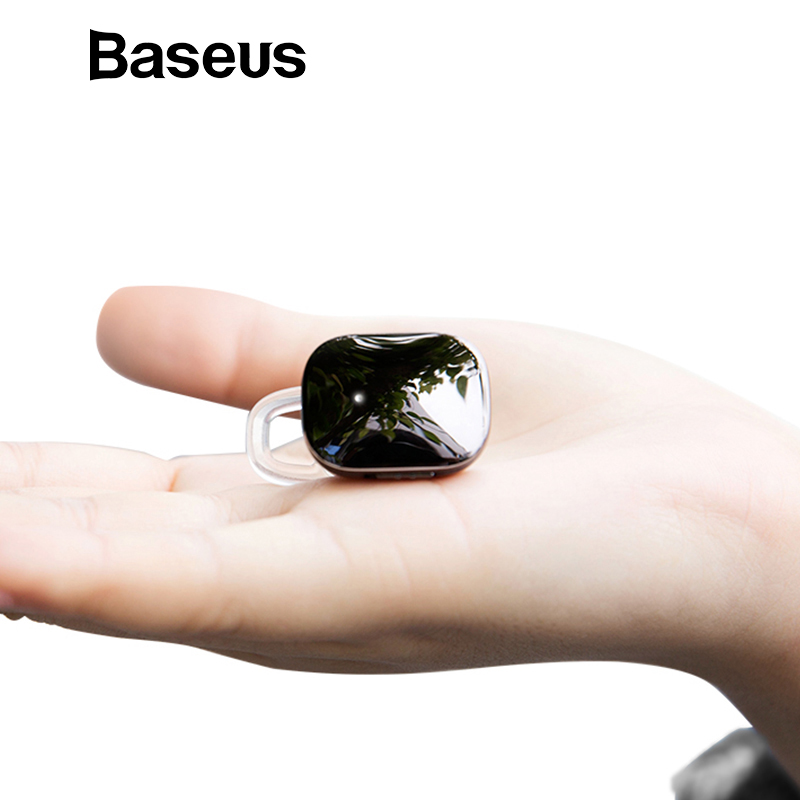 Baseus Mini inalámbrico Bluetooth auricular para iPhone X 8 Samsung S9 S8 estéreo inalámbrico Bluetooth auriculares con micrófono