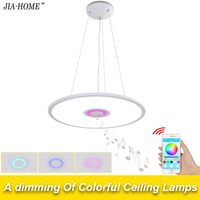 new APP modern ceiling lights for living room bedroom with music phone control dome commercial ceiling light fixtures