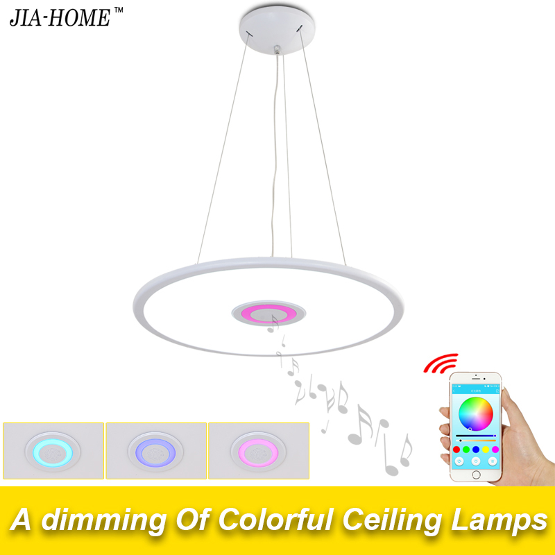 new APP modern ceiling lights for living room bedroom with music phone control dome commercial ceiling light fixtures living with music