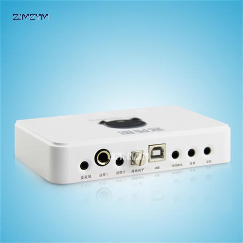 Р10 и 2 RCA USB Звуковая карта Аудио Интерфейс USB-адаптер для динамик микрофон для ноутбука Внешняя Звуковая Сетевая карта 1.25 Вт