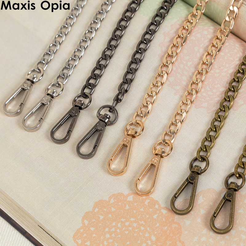 1 Piece Four Colors Metal Bag Chain Sac Chaine Bag Parts For Handbag Metal Strap For Bags Shoulder Straps For Handbags Chain