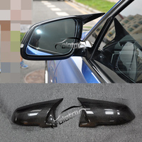 For BMW F20 F21 F22 F23 F30 F32 Mirror Cover M3 Style Replace Caps Carbon Fiber Replacement