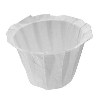 Reusable Refillable Holder K Cup Coffee Filter Cup Disposable Filter Cup Water Purifying Paper Capsule Environmental Easy Clean 2