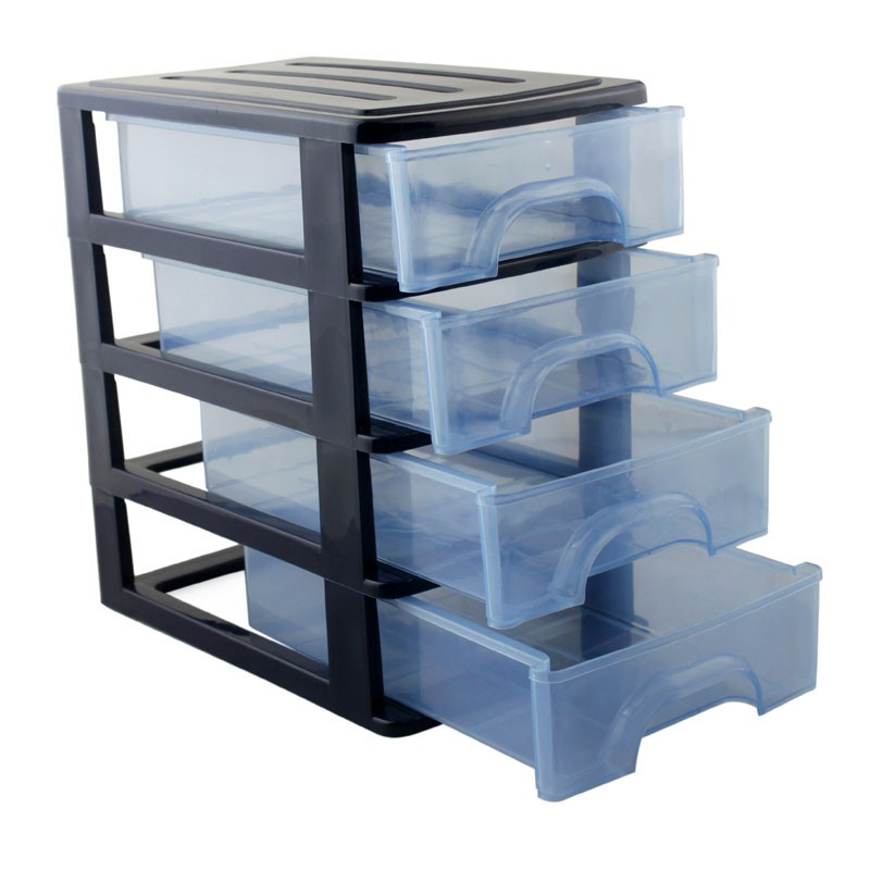 Tool Box Four-layer Drawer Screw Classification Component Box Toolbox Part Storage Box