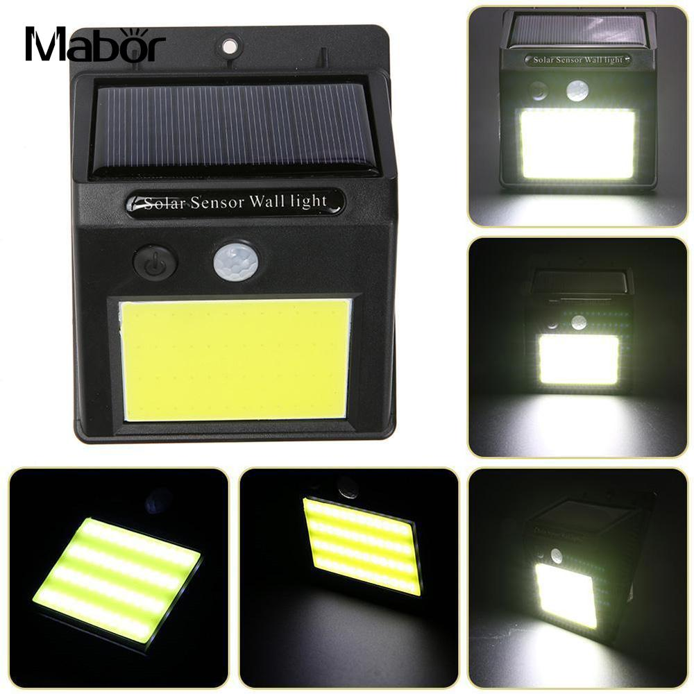 Walkway Lights Wall Light Induction Fence Eco-Friendly Outdoor Street Lamp Durable Solar Power Motion Sensor Light-controlled