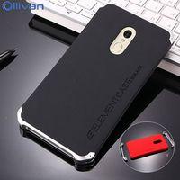 Ollivan Case For Xiaomi Redmi Note 4x Case Aluminum Metal Frame Hard PC Back Cover Redmi