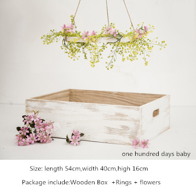 SHENGYONGBAONewborn photography props  Basket  One hundred day neonatal photography  props  Photography props  New patter #253 morais r the hundred foot journey