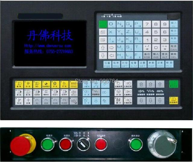 2000T-2   2 Axis  CNC lathe  system  controller cnc machine