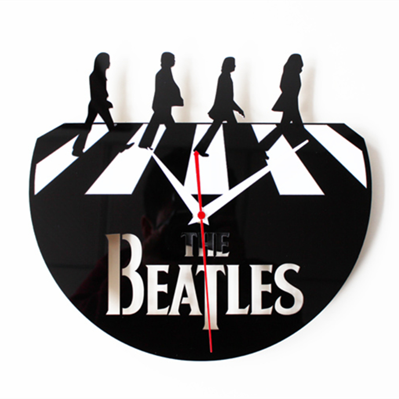 Compra disco de vinilo reloj de pared online al por mayor - Reloj vinilo pared ...