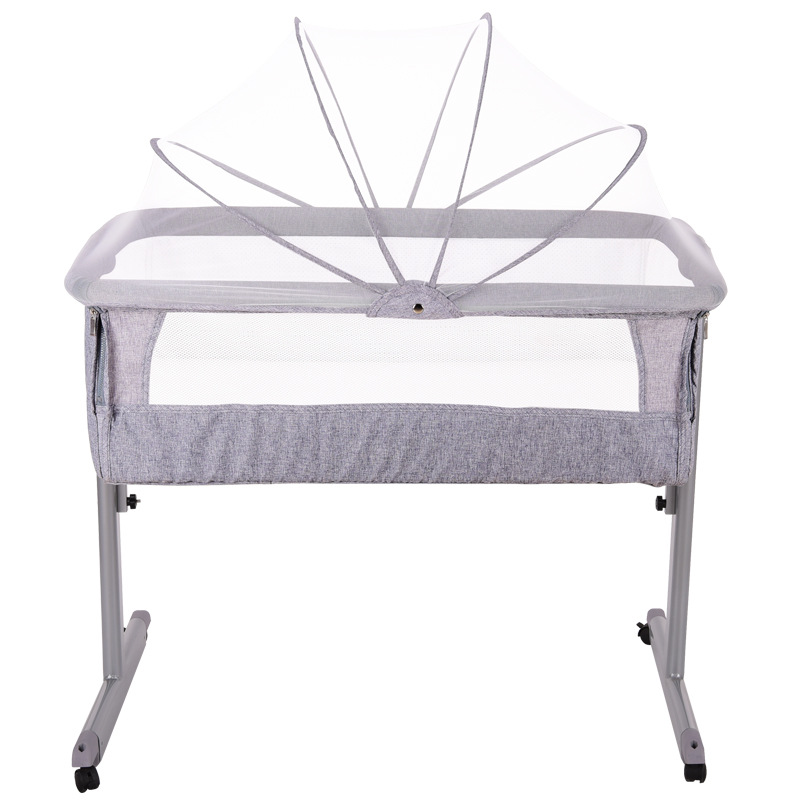 Babyfond Crib multi-function folding crib European portable game bed BB baby bed docking cradle brand cribs with mosquito netBabyfond Crib multi-function folding crib European portable game bed BB baby bed docking cradle brand cribs with mosquito net