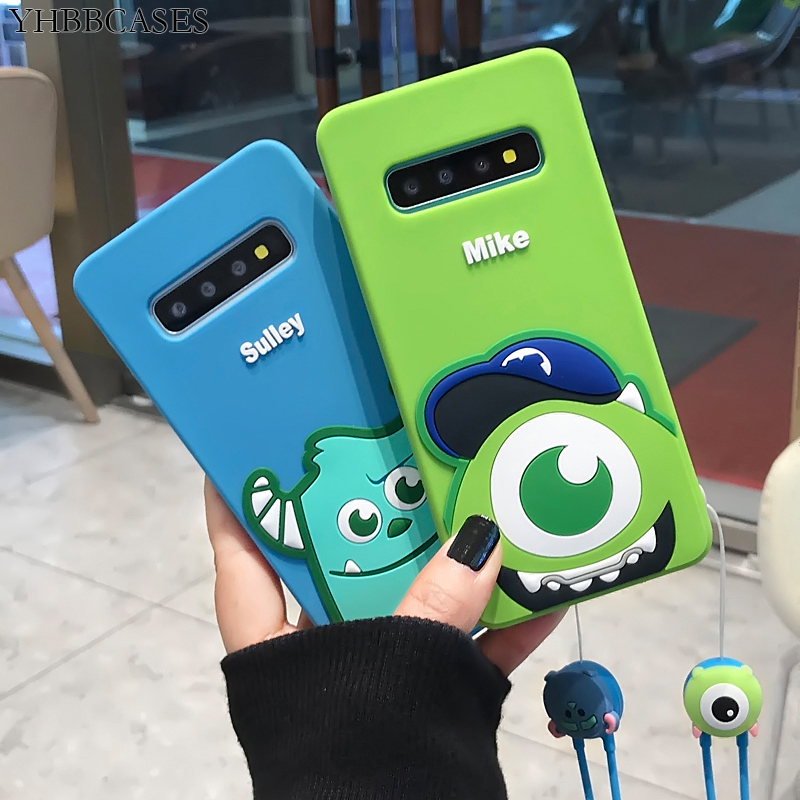 YHBBCASES Cartoon Phone Cases For Samsung Galaxy S