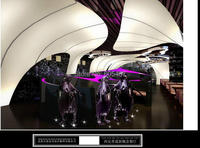 Художественный ПВХ ceilling Эластичной ткани потолочные фильмы украшения гостиницы