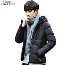 Фотография Casual Mens Jackets Coats Winter Men Jacket 2017 Brand 4XL Jacket Male Clothing Thick Parka Men Outwear Plus Size Warm Cloth