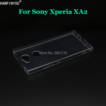 For Sony Xperia XA2 / Dual H3113 H3123 5.2  New Ultra Thin Soft TPU Camera Protect Silicon Gel Transparent Case Back Cover