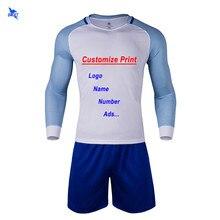 Hombres 2018 Patchwork diseño uniforme de fútbol traje niños personalizar  imprimir camisetas de fútbol de Futsal equipo camisa d. 8ee85dcd6ed24