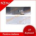 Итальянский клавиатура для Sony VAIO SVE15 SVE-15 СПО 15 Белый с РАМКОЙ клавиатуры