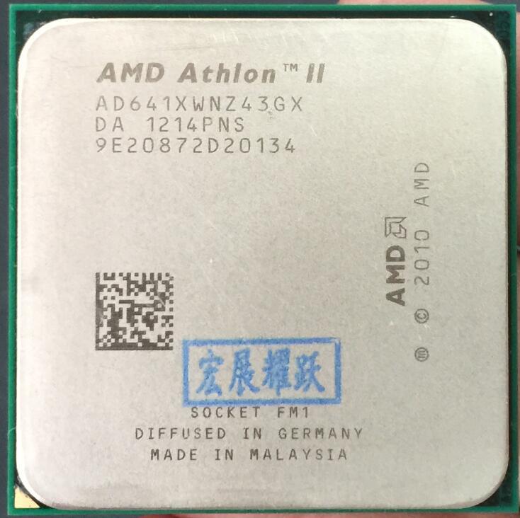 AMD Athlon II X4 641  FM1 Quad-Core CPU 100% Working Properly Desktop Processor