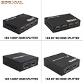 HDMI Splitter Full HD 1080p 2K*4K Video HDMI Switch Switcher 1X2 1X4 Split 1 in 2/4 Out Dual Display For DVD PS3 Xbox WiPS3 Xbox