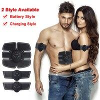 Muscle Stimulator EMS Stimulation Body Slimming Beauty Machine Abdominal Muscle Exerciser Training Device Body Massager