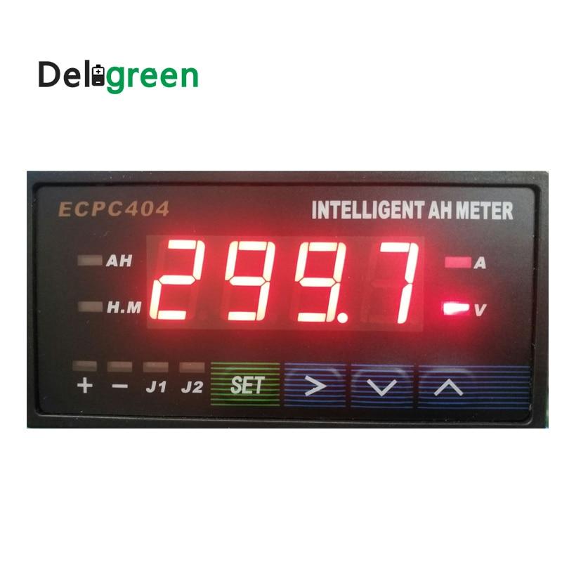 Deligreen Hot seller Intelligent Amp Hour METER HB404 with Blue Red Digital Display ECPC404 JLD404 HB404