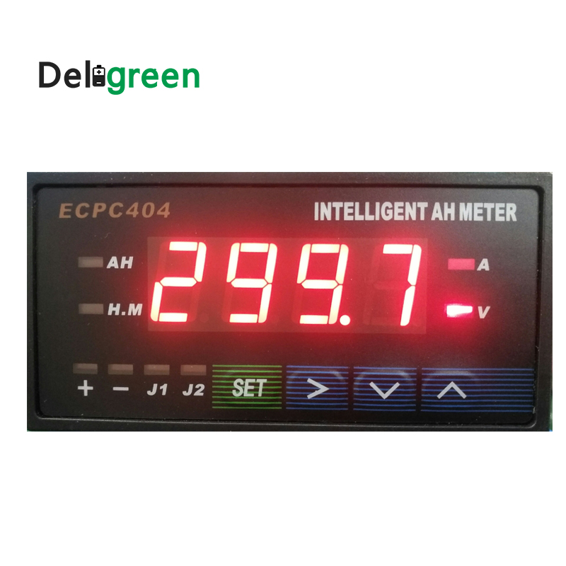 Deligreen Hot seller! Intelligent Amp Hour METER HB404  with Blue /Red Digital Display ECPC404 JLD404 HB404Deligreen Hot seller! Intelligent Amp Hour METER HB404  with Blue /Red Digital Display ECPC404 JLD404 HB404