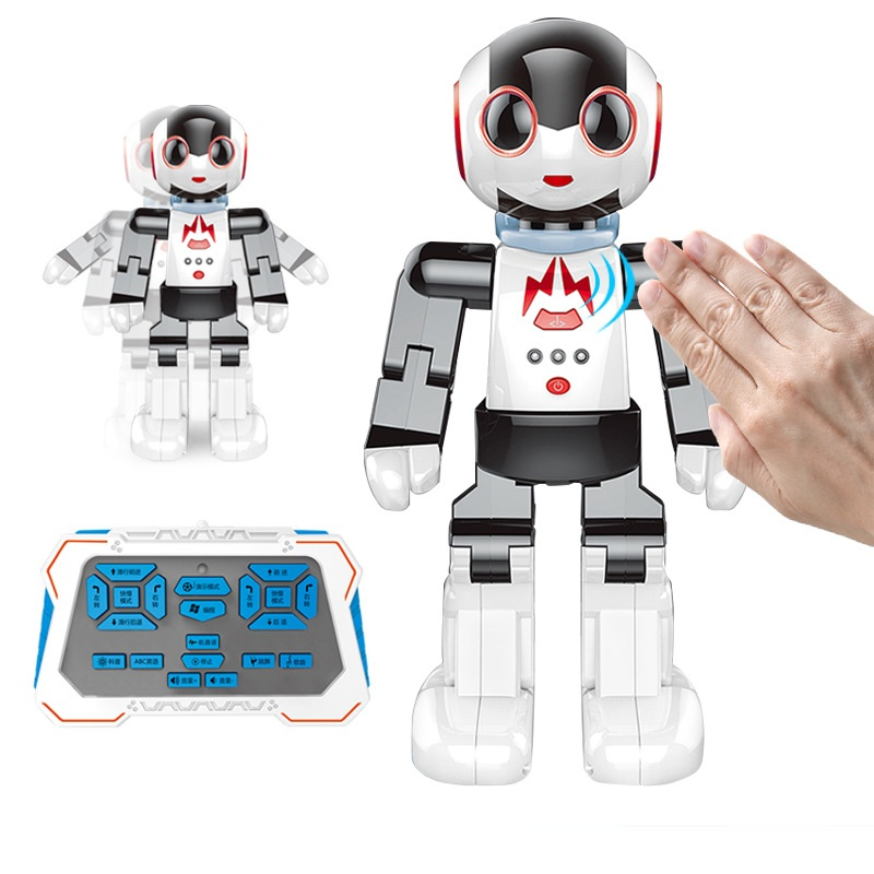 Multi-functional Intelligent Gesture Sensing Robot 2842 Dancing and Musical Electronic RC Robot Kids Birthday Toy