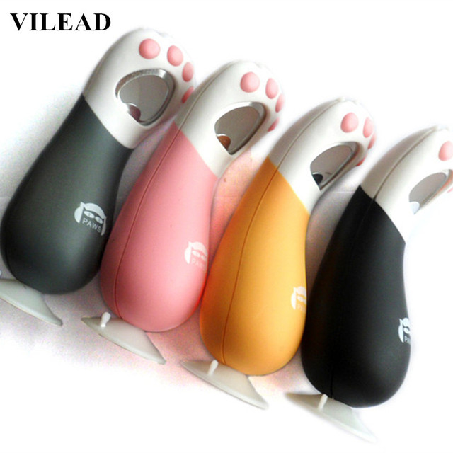 VILEAD Kitchen Creative Cartoon Cat Paw Magnetic Novelty Bottle Openers  Wine Foot Bottle Opener Funny Cap Opener Ring 9b4f1bf7b
