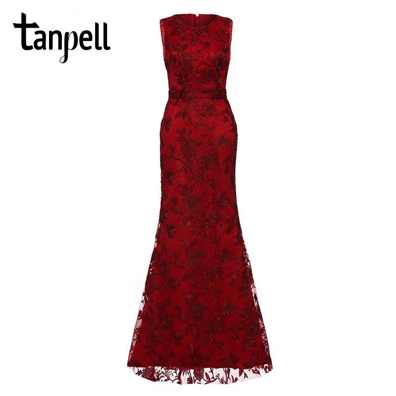 Tanpell κεντήματα βράδυ μαύρη δαντέλα - Ειδικές φορέματα περίπτωσης - Φωτογραφία 6