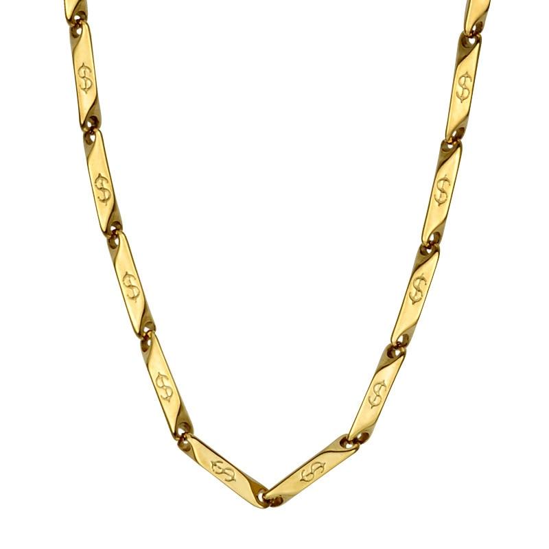 Goldkette dollar  Online Kaufen Großhandel dollar kette aus China dollar kette ...