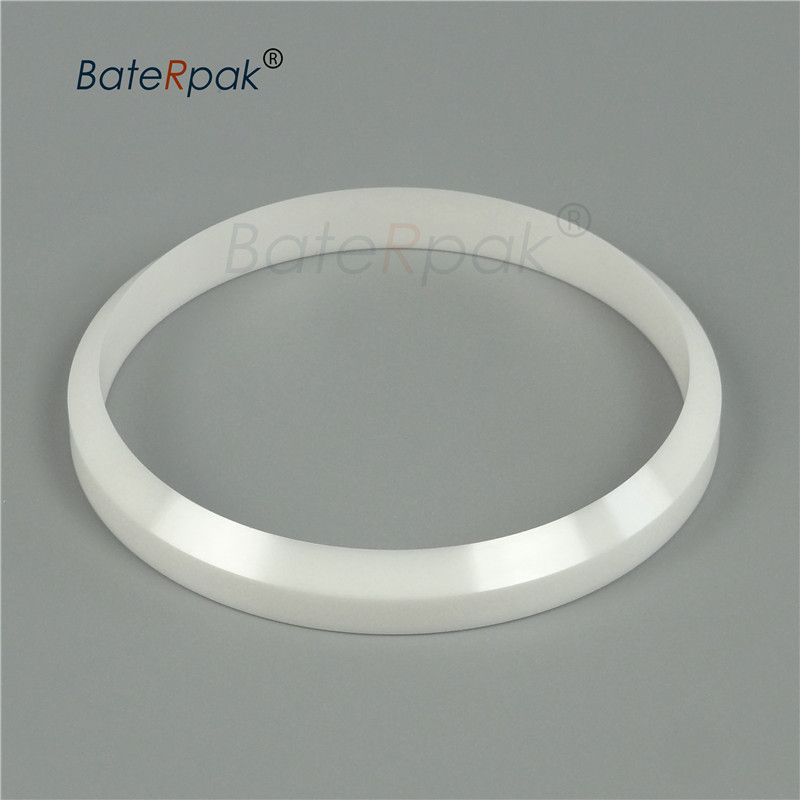 BateRpak Pneumatic/electric Pad Printing Machine Spare Part ZrO2 Ink Cup Zirconium Porcelain/ceramic Ring,ODxIDxH Mm