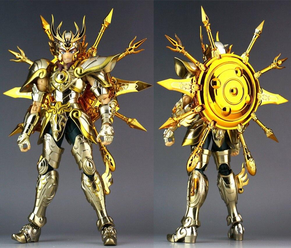 Image 5 - CS Model Saint Seiya Cloth Myth Soul of God SOG EX Gold Libra Dohko metal Cloth SC014Action & Toy Figures   -