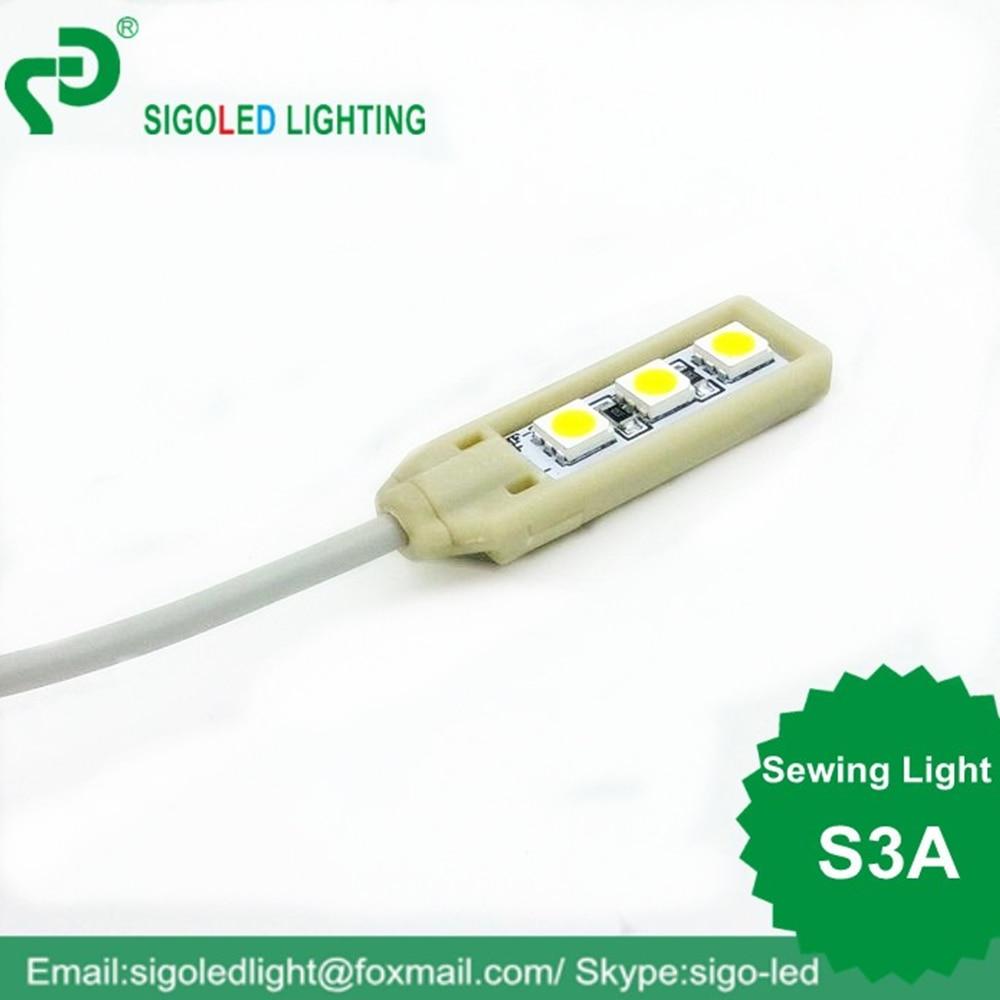 Besplatna dostava Visokokvalitetna DC5V S3A pribor za šivanje LED - Profesionalna rasvjeta - Foto 5